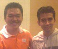 Dr.Irfan Khairi dan Ong Boo Siong