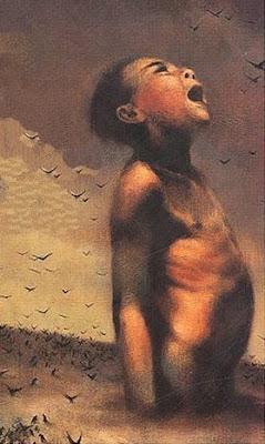 """Couverture du livre """"l'oiseau bariolé"""""""