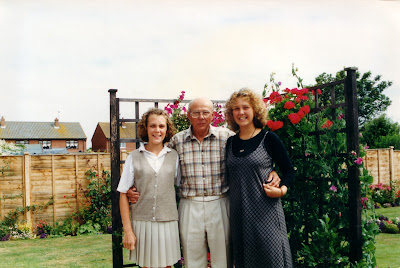 PippaD, her Sister and Granddad