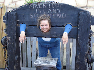 Mummy in the Stocks