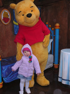 Top Ender with Pooh Bear