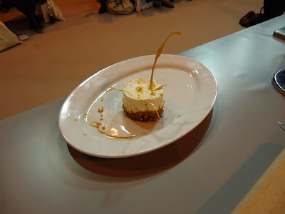 Masterchef Invention Test CheeseCake Winner