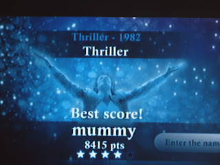 Mummy's Highscore on Thriller playing Michael Jackson: The Experience