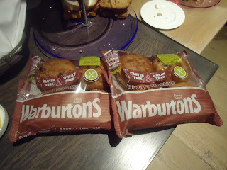 Warburtons Wheat and Gluten Free Fruity Teacakes