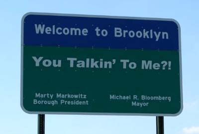 Welcome To Brooklyn Sign