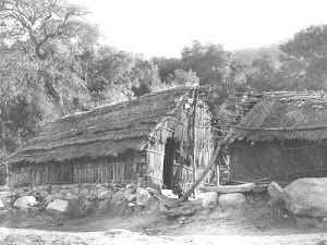 Santa Ysabel thatched house