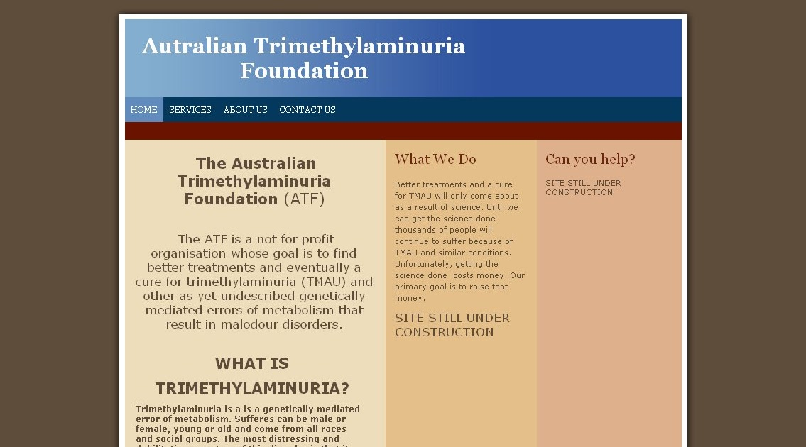 The MEBO Blog: The Australian Trimethylaminuria Foundation website