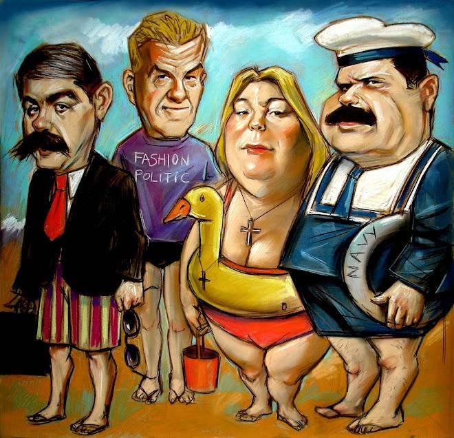 politicos en vacaciones