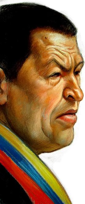 Chavez enojado en doble pagina