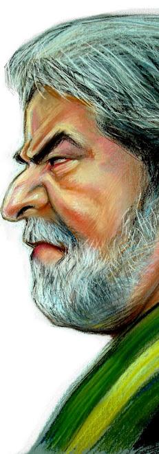 Lula enojado