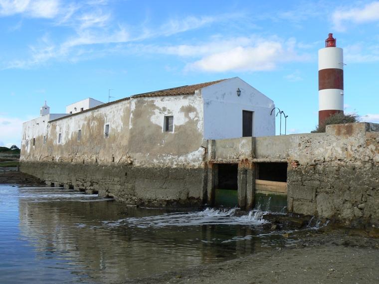 Molino de mareas en Olhao