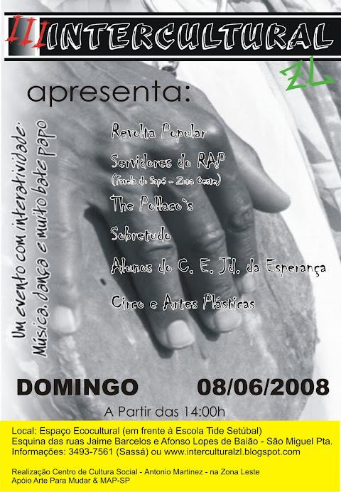 INTERCULTURAL III - 08 DE JUNHO DE 2008