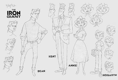 Living lines library the iron giant 1999 characters for Iron giant coloring pages