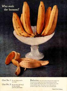 ¿Quién robo la banana?