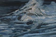 Bamburgh Storm- sketch