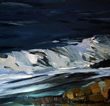 Bamburgh March Storms -detail
