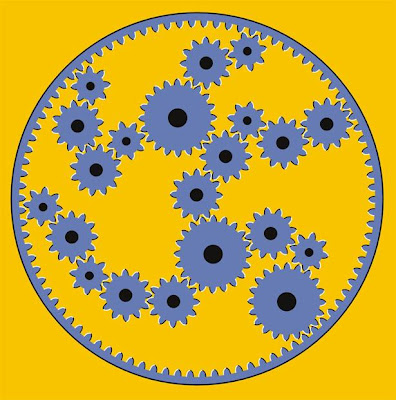 Moving Cogs Illusion