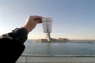 The Statue of Liberty Optical Illusion