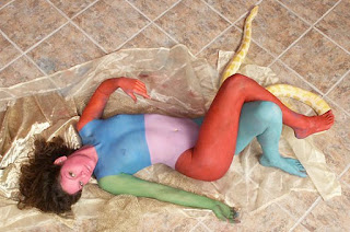 Female Body Painting - Body Art Painting Gallery