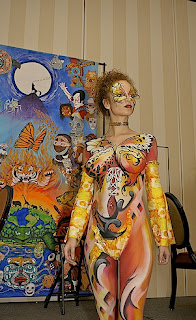 Body Painting On Women - Body Art Painting Gallery