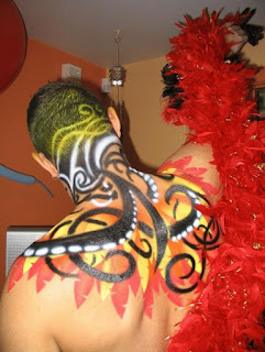 Body Painting On Women Gallery