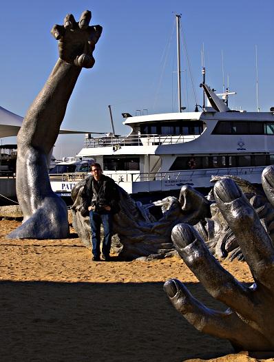 Otis odd things i 39 ve seen the awakening sculpture part 2 for Awakening sculpture national harbor