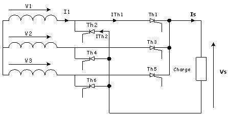 electronique: Redresseur type parallèle double PD3