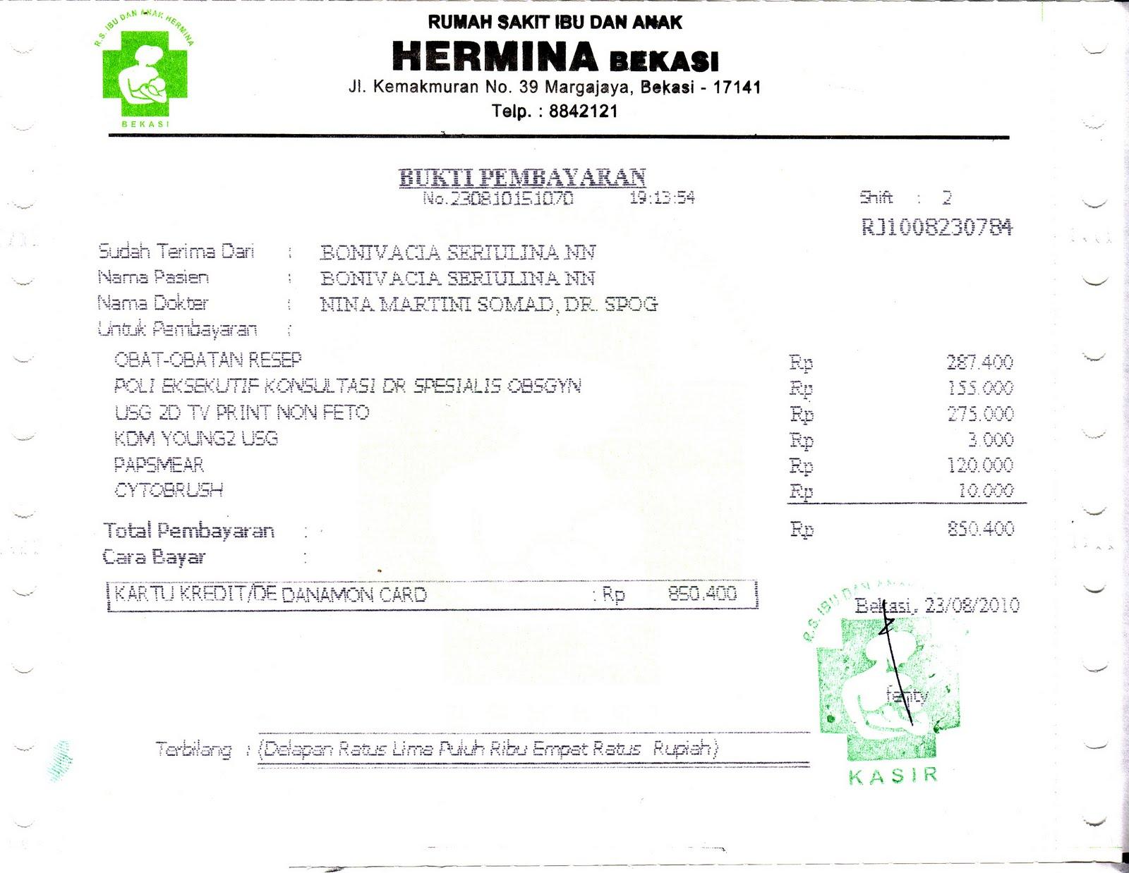 Contoh Surat Dokter Rs Hermina Surat 27