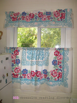 Ocd Obsessive Crafting Disorder Cottage Curtains From