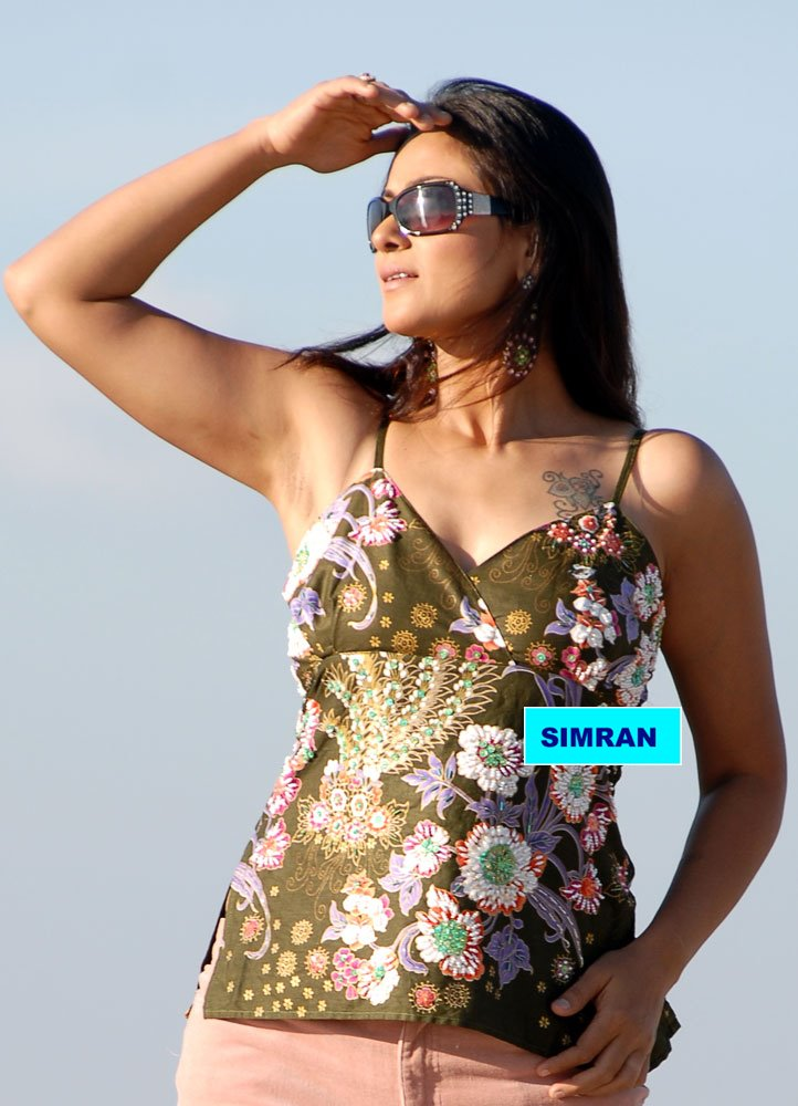 Hansika Motwani Cute Wallpapers Film Actress Photos Simran Showing Her Cute Armpits In