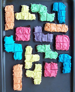fraske designs: How to Make Tetris Brownies (or Tetris ...