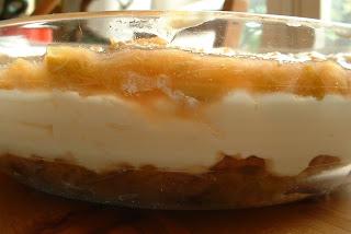 rhubarbe chocolat blanc et mascarpone recette