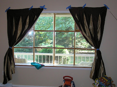 Valance Curtains  Living Room on View Of A Room  Curtain Quest