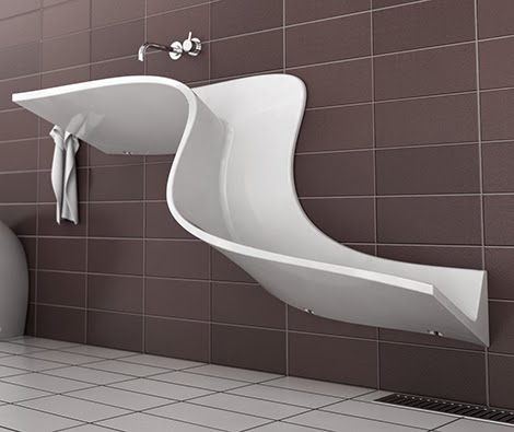 Resultado de imagem para banheiro diferente