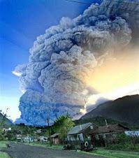 impresionante cuadro del volcan chileno que se elevó a 20 kilómetros