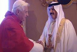 benedicto XVI ha recibido en Castelgandolfo su casa de verano al Rey de Bahréin