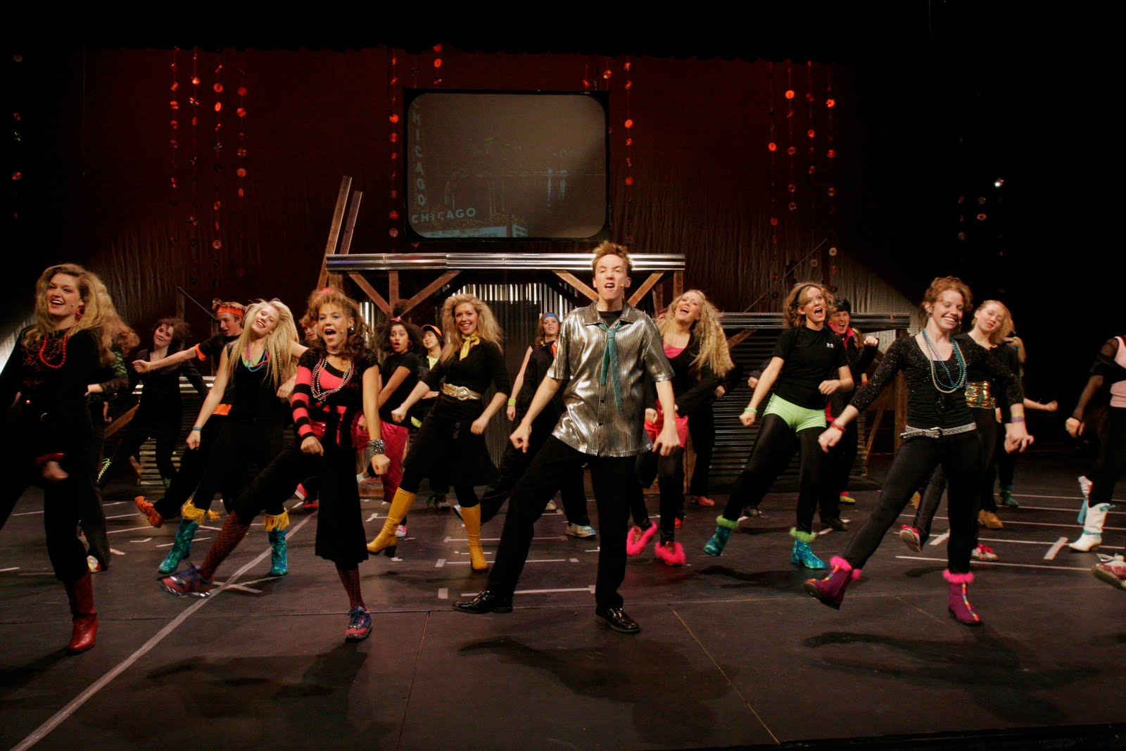 Highland Theatre: Footloose Costumes