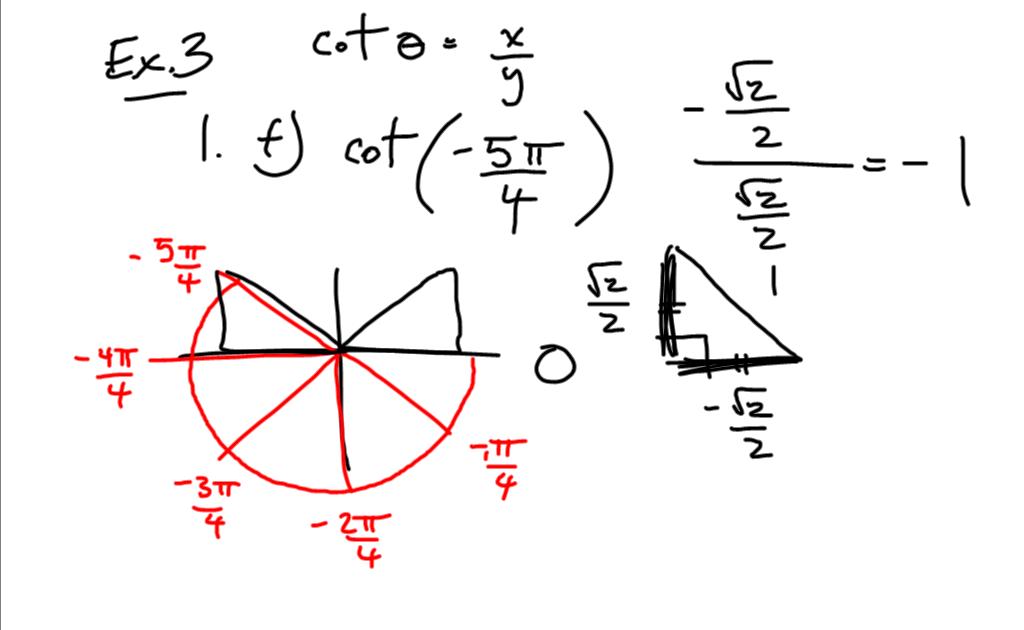 Grade 12 Pre-Calculus Math 0910: Exact Values for Trig