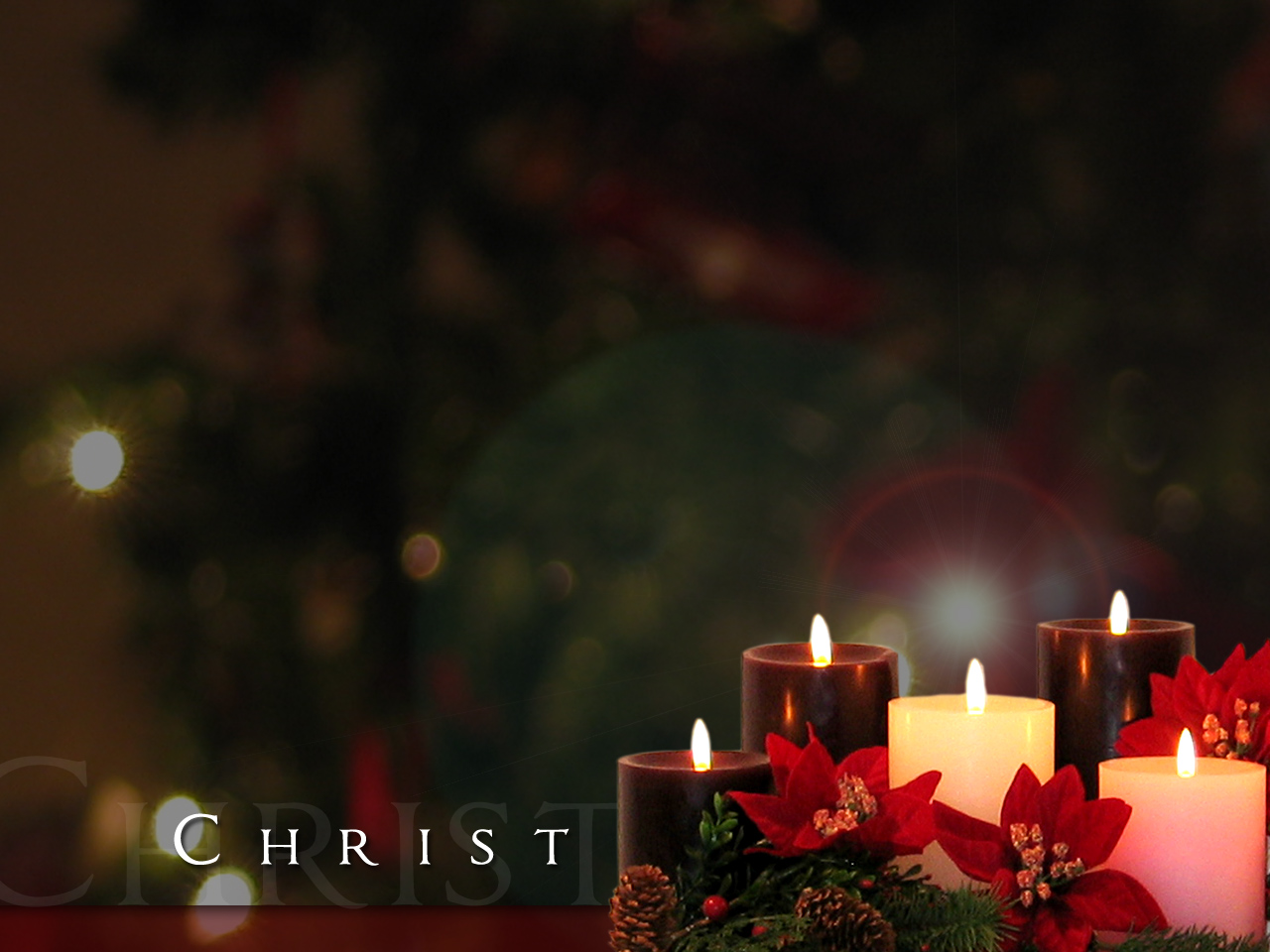 File:Hundreds of candles and a Christian Cross at a ...  |Christian Christmas Candles