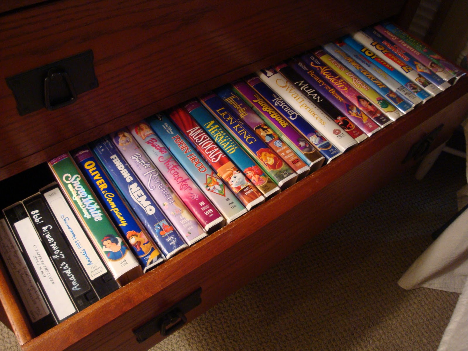 Where Can I Sell My Vhs Tapes >> Serenity Now: First of Fall Thrifting and a Little Organizing