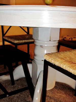 how use stain to antique a  table