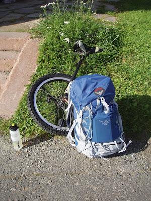 Den 70liters ryggsäck jag köpte för ett par år sen när jag skulle ut till  fjälls känns väldigt o-aktuell numera 1fd5ec6ca4f55