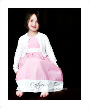 Kansas City Child Photographer girl happy face black backdrop