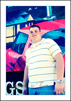 Kansas City Senior Photographer senior boy outdoor