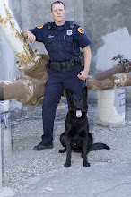 Tony Brereton and K9 partner Jinx