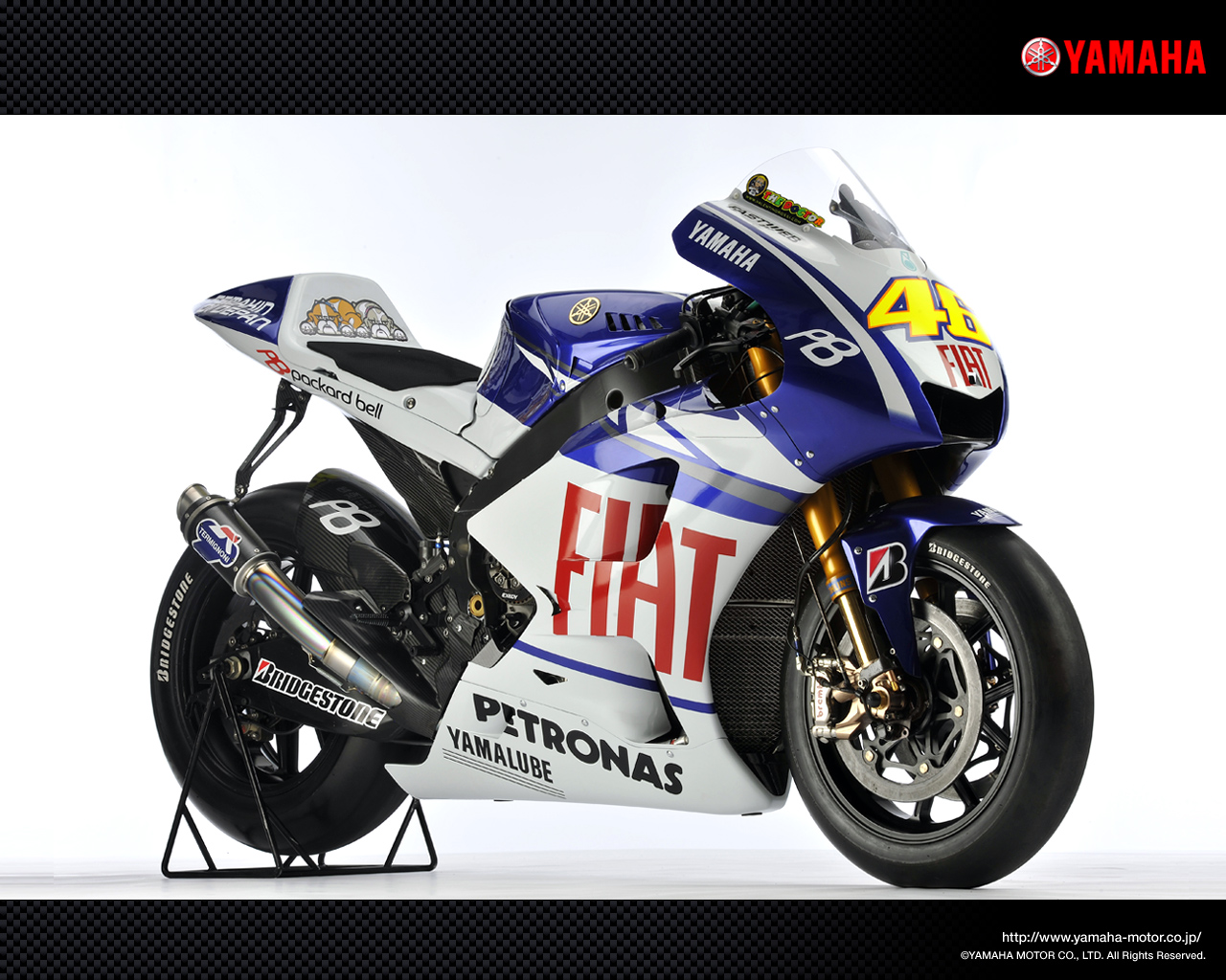 yzr m1 motogp 2010 fiat yamaha team 4 racing wallpapers. Black Bedroom Furniture Sets. Home Design Ideas