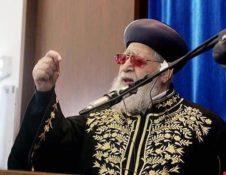 Resultado de imagem para rabino chefe Israel jumento