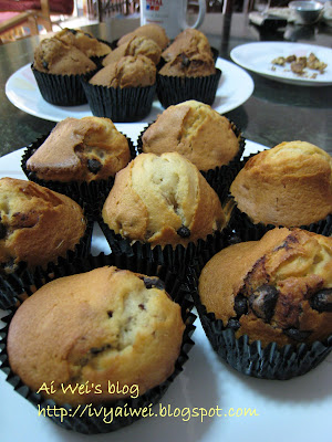 Homemade Chocolate Chips Walnut Muffin | My Story
