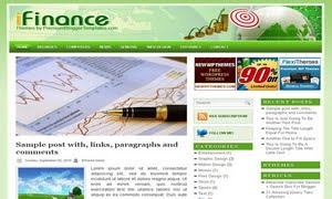 iFinance Blogger Template