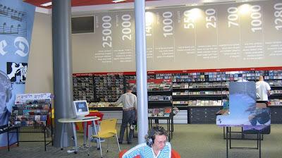 הספריה המוזיקלית במדיטק, חולון